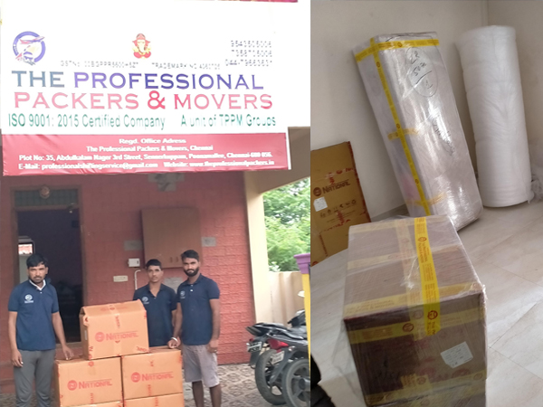 The Professional  packers and movers
